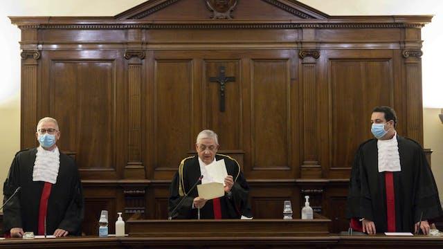 Former head of Vatican bank condemned...