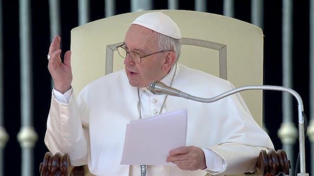 Papa explica en audiencia general sig...
