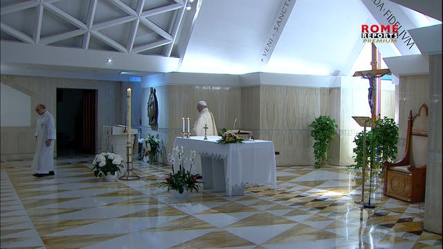 Pope at Santa Marta: We must have mor...