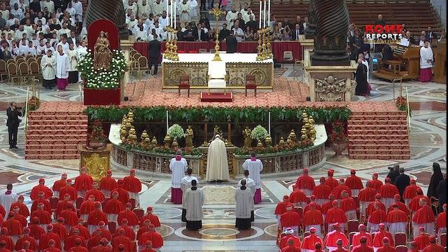 Estos son los 13 nuevos integrantes del Colegio de cardenales