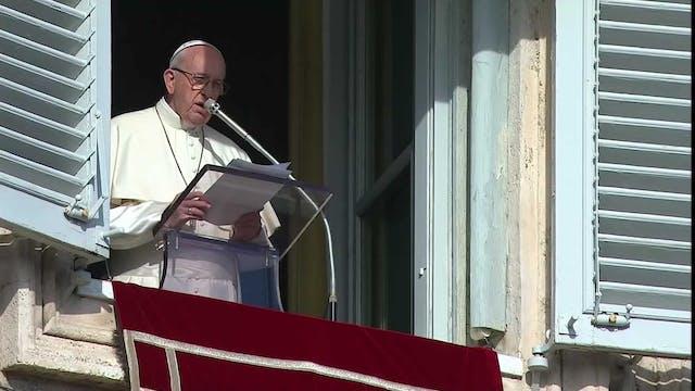 Francisco reza por las víctimas del t...