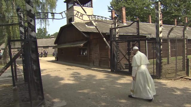 Auschwitz, camp of horror visited by ...