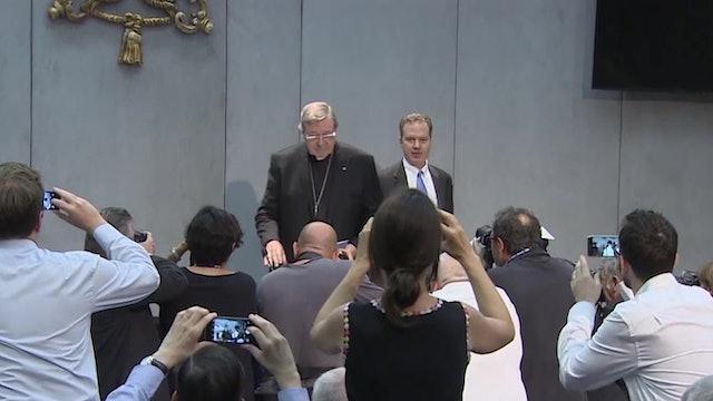 Agosto de 2019: Cardenal Pell, condenado en primer grado por abusos