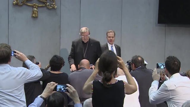 Agosto de 2019: Cardenal Pell, conden...
