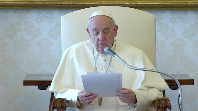 Pope at General Audience invites Chri...