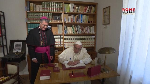 Papa explica su carta a los católicos sobre el rosario
