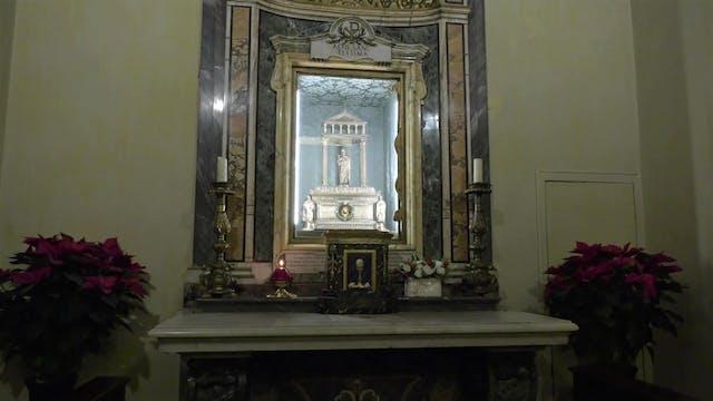 St. Agnes' skull, a lasting memory of...