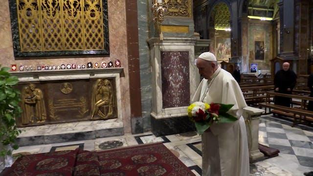 El Papa, a dieta para curar la ciática