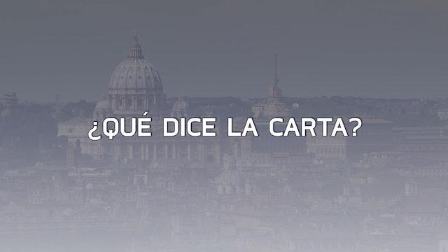 Todo sobre la carta con acusaciones contra el Papa