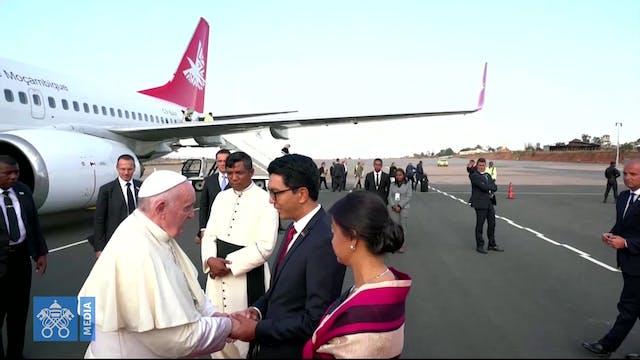 El Papa llega a Madagascar