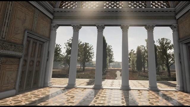 Roma muestra en la Domus Aurea los frescos que inspiraron a Rafael
