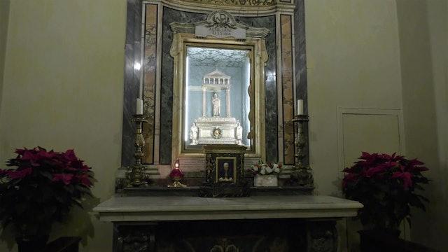 El cráneo de Santa Inés, la reliquia de una mártir de 12 años