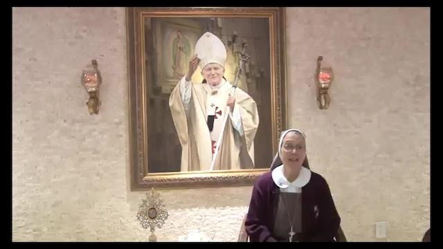 100 años de San Juan Pablo II - Madre Adela Galindo