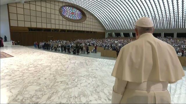 Pope Francis says the faith should no...