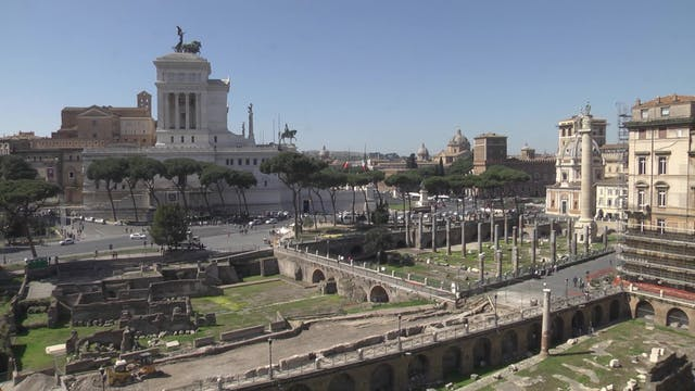 Rome exposes wonderful secrets of its...