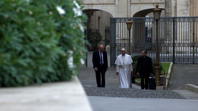 Pope tests negative for the coronavirus