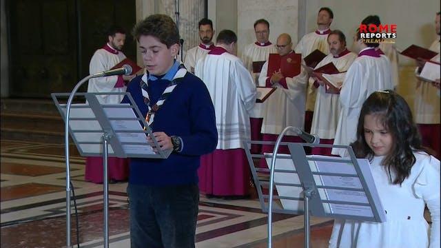 Papa reza Vía Crucis sobre el sufrimi...