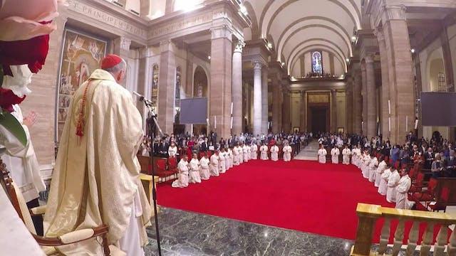 Cardenal Pietro Parolin ordena a 29 n...