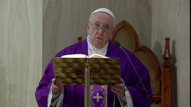Papa alerta del peligro de enjaular l...