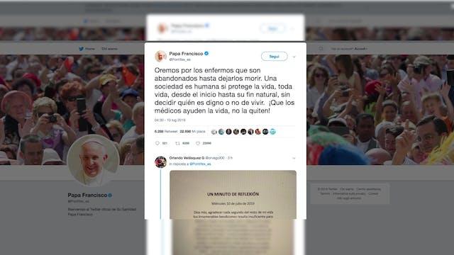Contundente petición del Papa a favor...