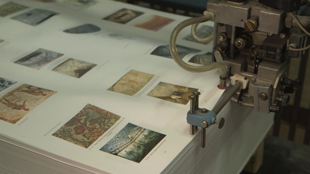 Ink, glue and thread: ancient bookbinding by Vatican's Pressing Press