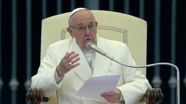 Pope Francis: God will provide everyt...