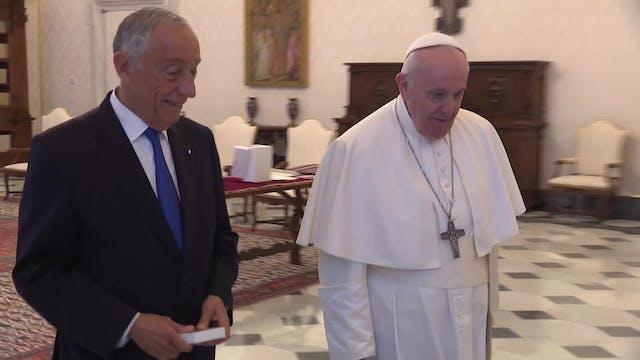 Papa a presidente de Portugal: Todaví...