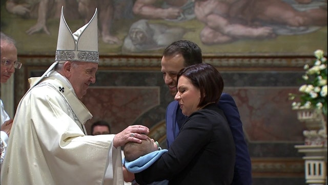 Vatican cancels baptisms presided over by the pope due to the pandemic