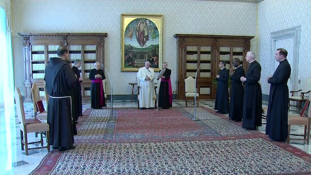 Pope Francis emphasizes the role of p...