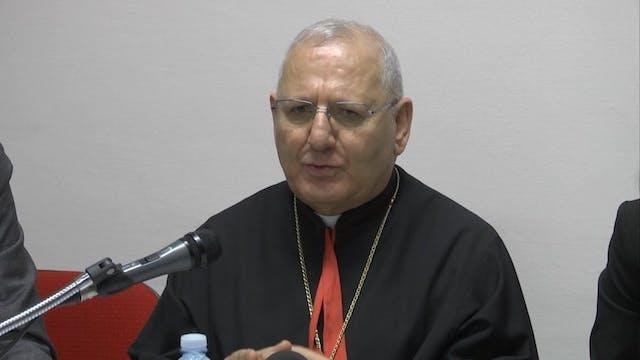 Patriarca Iraquí: El Papa nos ha dich...