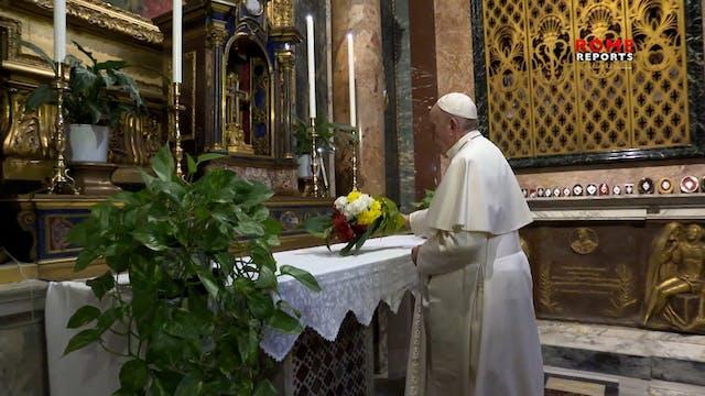 Papa sale mañana del Vaticano para la...