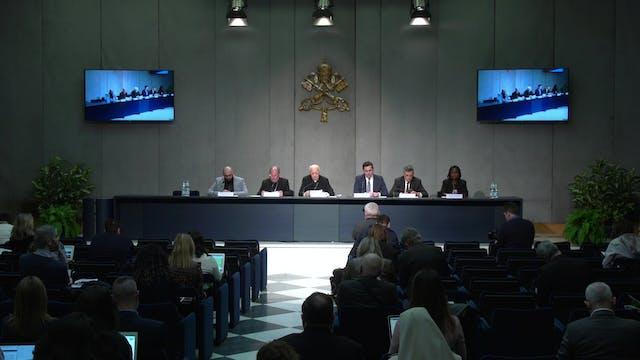 Vatican presents pope's new apostolic...