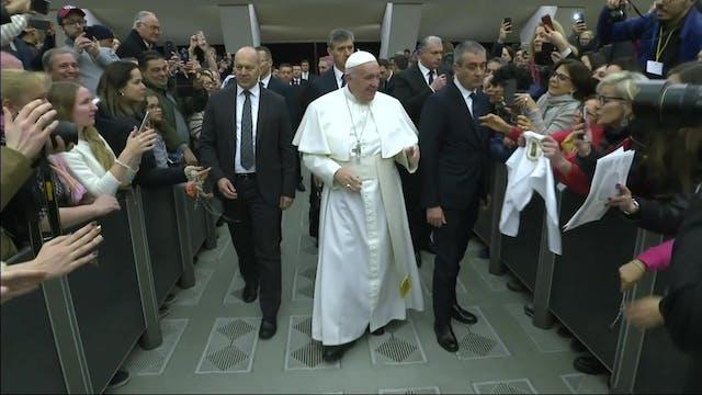 Papa: Igual que San Pablo, la Iglesia...