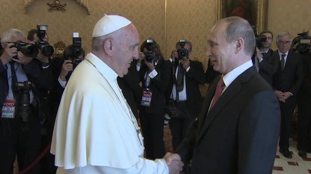 Putin regresa al Vaticano: Se verá por tercera vez con el Papa en julio