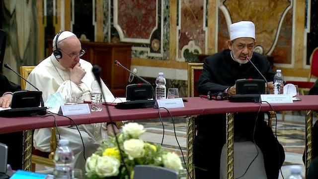 Líderes religiosos se reúnen con Papa para renovar compromiso con la educación