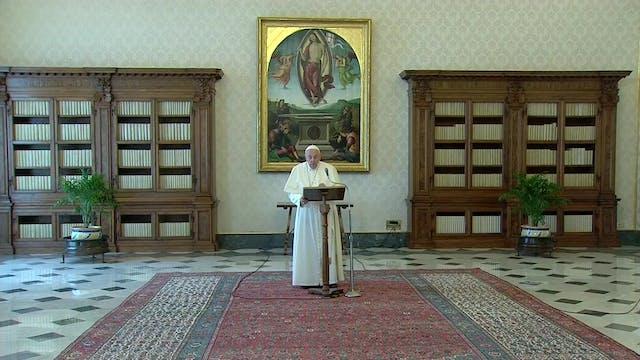 Pope Francis at Angelus: Mafias are u...