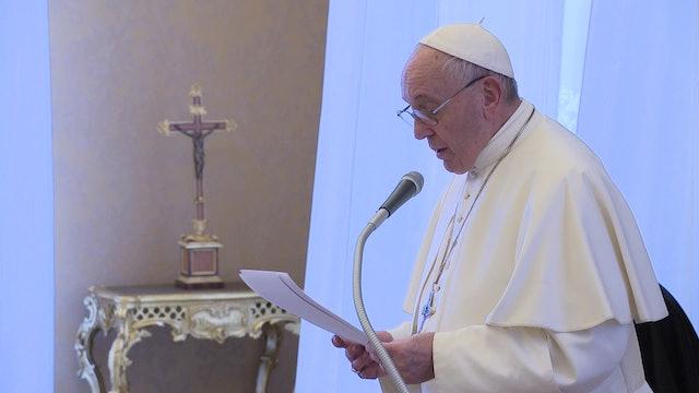 Francisco: necesitamos recordar el Holocausto para no volvernos indiferentes