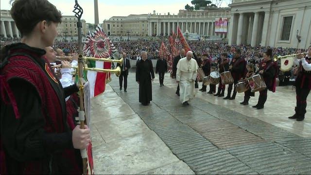 Papa en audiencia: Desde el principio...