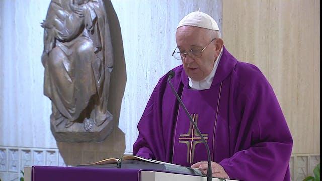 Papa en Santa Marta: Ninguno de nosot...