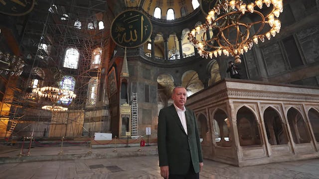 Erdoğan invites Pope Francis to the i...