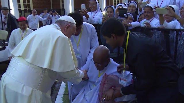 Viaje Tailandia y Japón: El Papa se r...