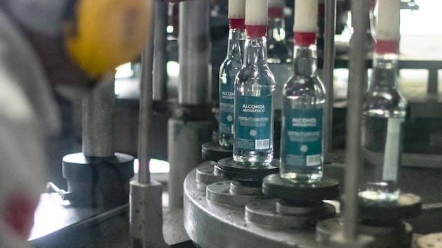 Venezuelan rum brand donates alcohol ...