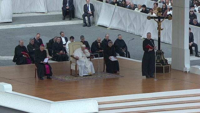Papa en la audiencia: Rezar el Padrenuestro implica que confiemos en Jesús