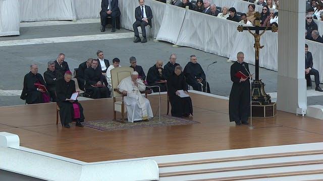 Papa en la audiencia: Rezar el Padren...