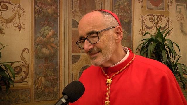 Cardenal Michael Czerny, un hijo de emigrantes, que ayuda a los emigrantes