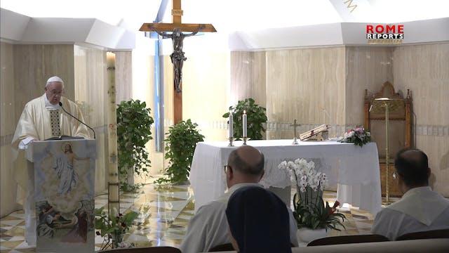 Papa en Santa Marta: Ser cristianos n...
