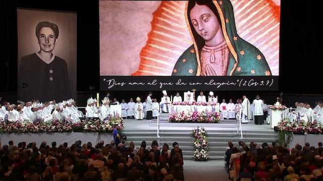 El Papa pide un aplauso para Guadalupe Ortiz de Landázuri, beatificada el sábado