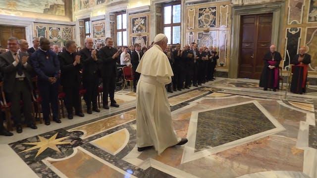 Francisco a servicio postal Vaticano:...