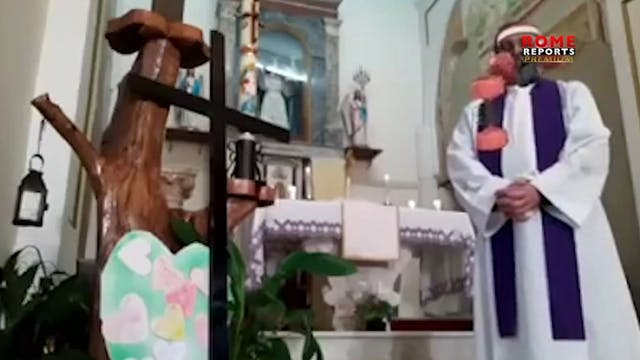 Priests respond creatively to overcom...