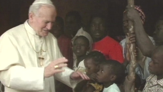 Popes who have ventured to the African continent